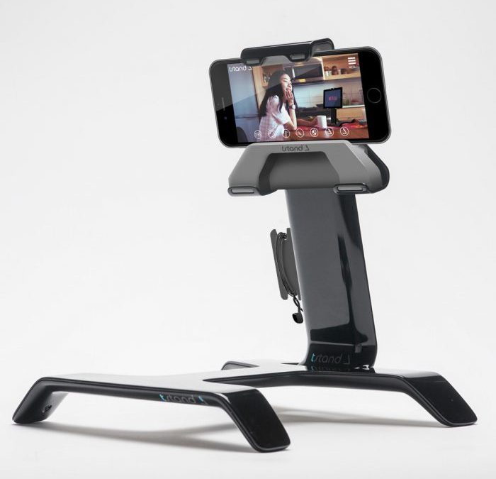 Turn your Tstand into an iPhone holder for car or bed