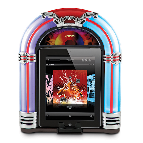 ION Retro iPad Jukebox