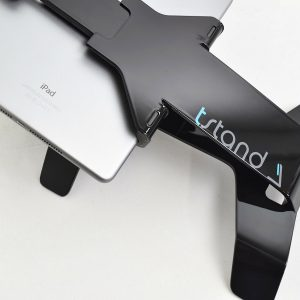 tstand iPad and tablet stand in black