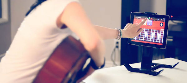 You can also use Tstand as an iPad Music Stand