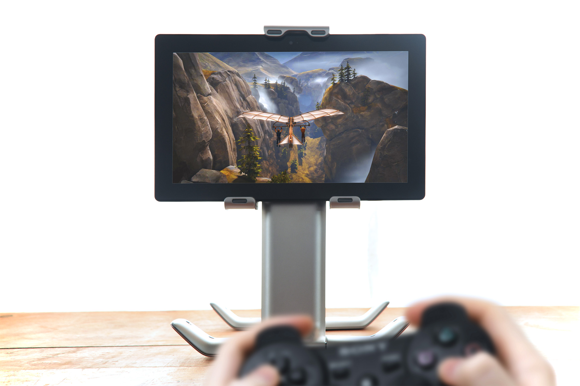 ipad stand with controller brothers a tale of two sons